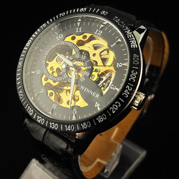 Стилен автоматичен часовник Winner