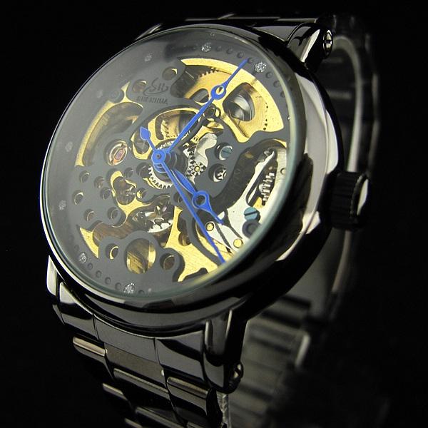 Масивен механичен часовник скелетон