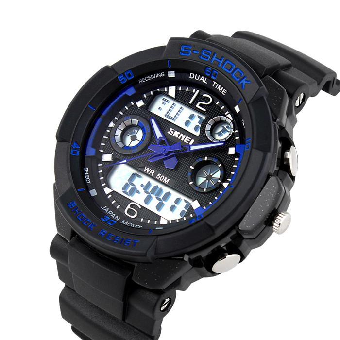 евтин спортен часовник с хронометър