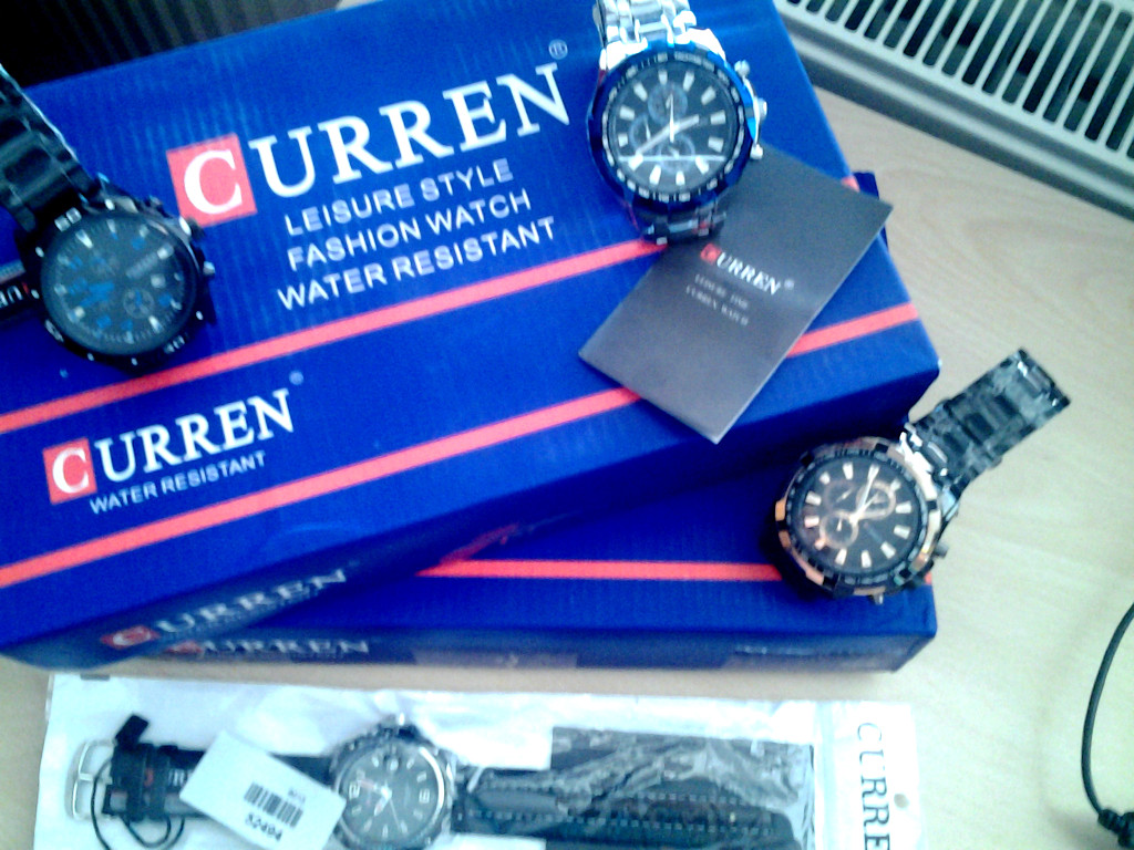маркови часовници Curren