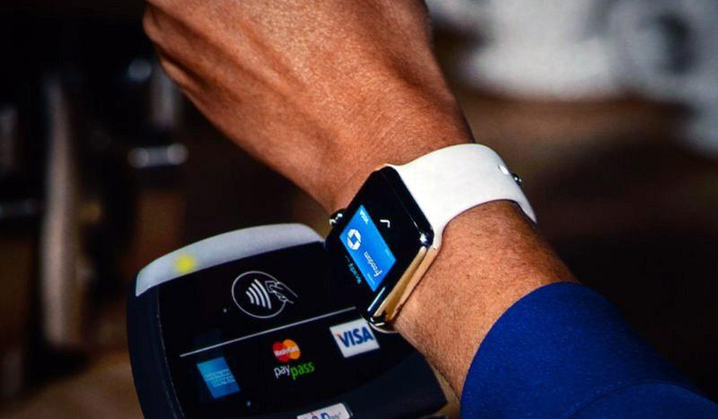 дигитално плащане с часовник