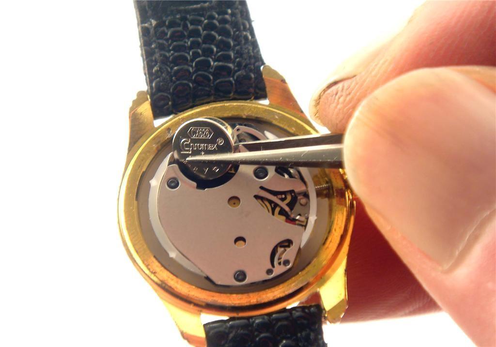 смяна батерията на часовник