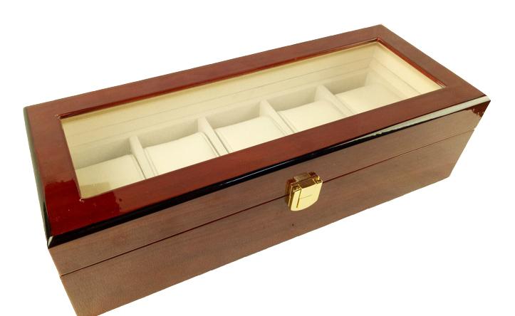 луксозна кутия за колекционери на часовници