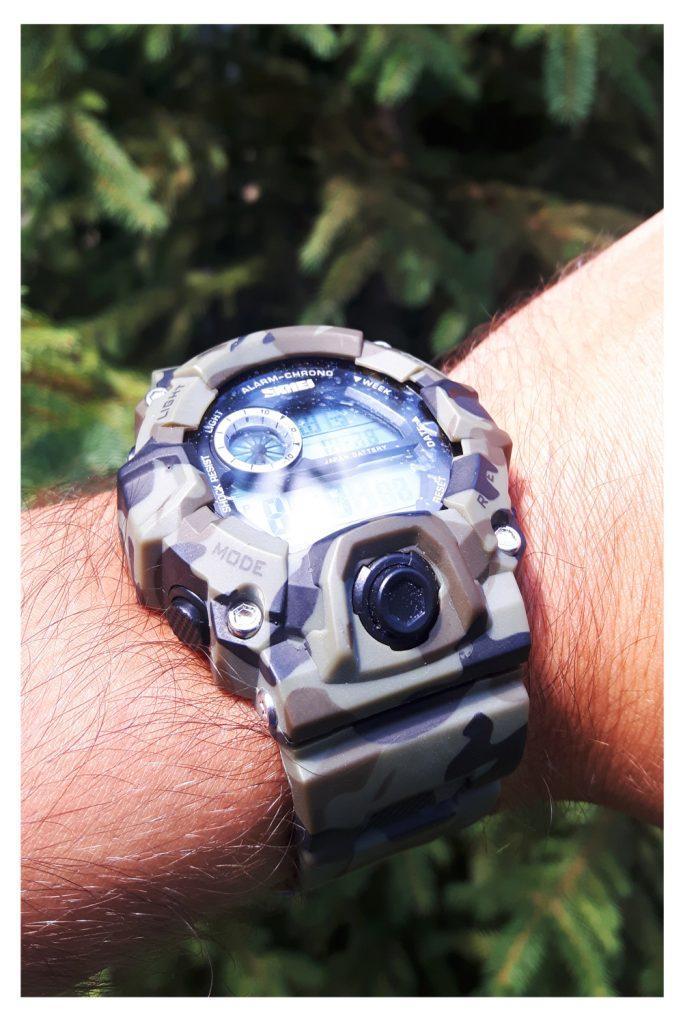 военен камуфлажен часовник на ниска цена