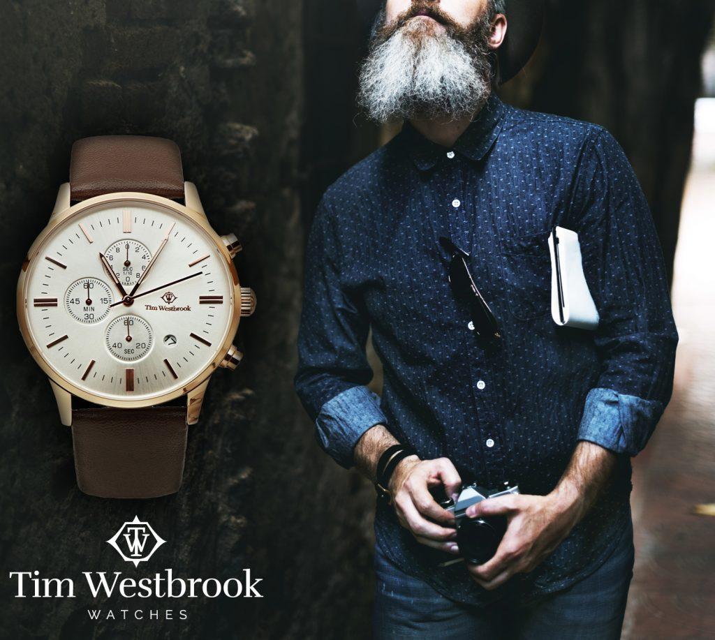 tim westbrook марка часовници за съвременни джентълмени с усет към семплата и изчистена визия