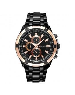 Масивен мъжки часовник-GOLD