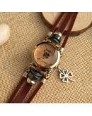 Свеж дамски часовник с детелина