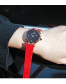 Дамски часовник Velletri, с кадифена каишка