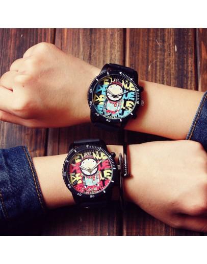 Унисекс часовник с графити - 2 модела