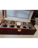 Луксозна дървена кутия за часовници