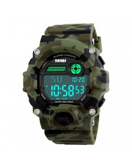 Военен камуфлажен спортен часовник