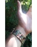 Спортен часовник с камуфлажна каишка - Toki