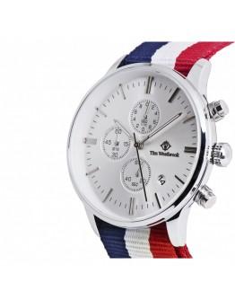 Модерен цветен часовник- Bella Bellagio Silver Watch