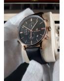 Класически луксозен часовник- Monaco Black Edition