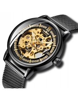 Елегантен автоматичен часовник скелетон - Potenza