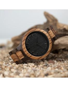 Дървен унисекс часовник Sagano Bamboo