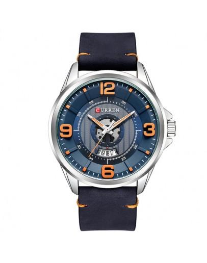 Кежуал мъжки часовник - Middelfart - черен/син
