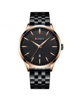 Модерен часовник - Helsinge с черна или синя верижка