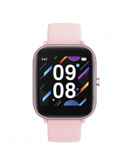 Евтин дамски розов смарт часовник - Colmi P8