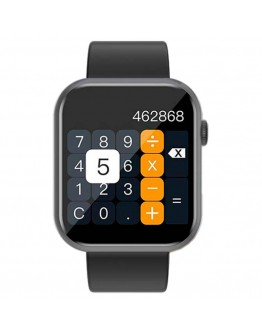 Черен смарт часовник спортен асистент - Colmi P9