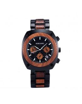 Луксозен дървен часовник - Dubai
