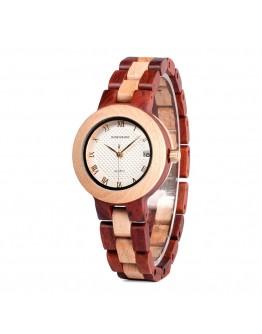 Дамски дървен часовник - Manila